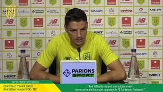 VIDEO: LIVE I Conférence d'avant match FCN - TFC.
