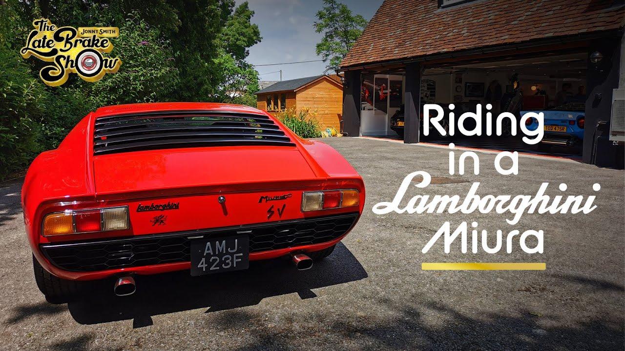 Driving in the first ever Supercar - The Lamborghini Miura SV
