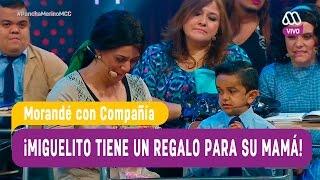 Miguelito tiene una sorpresa a su mamá - Morandé con Compañía 2016