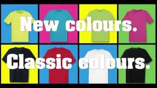 Fruit of the Loom Performance T-shirts - New colours available from BTC activewear
