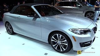 2015 Bmw 2-series 228i Convertible - Exterior And Interior Walkaround - 2014 La Auto Show