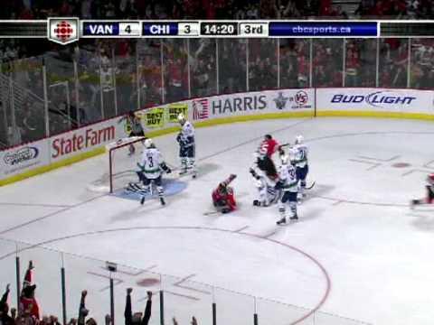 Canucks @ Blackhawks Game 6 5/11/09