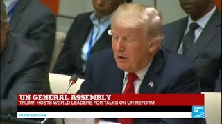 REPLAY - Watch US President Donald Trump''s First Address at the UN General Assembly