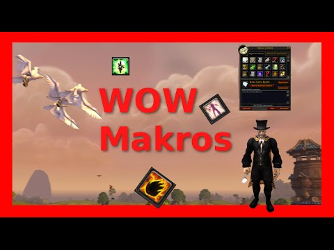 Guide: Makro Funktion für jeden in world of warcraft