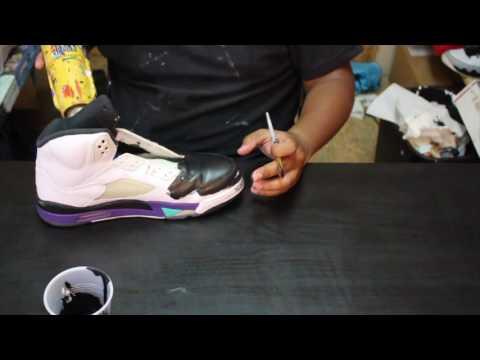 "Custom Air Jordan 5 ""Black Grape"" + Time Lapse"