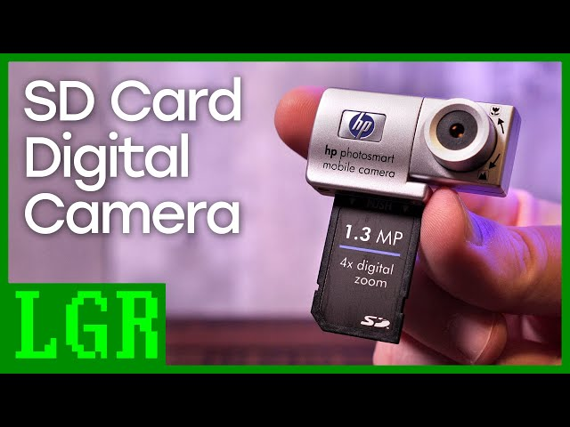 LGR Oddware - HP Mobile Camera for PDAs