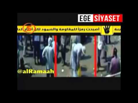 Mısır'ın şehidi Esma'nın vurulma anı