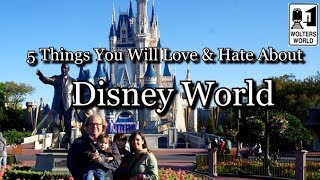 Visit Disney World - 5 Things You Will Love & Hate about The Magic Kingdom