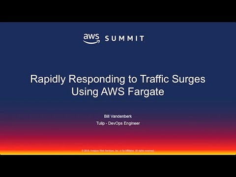 Tulip Retail on Rapidly Responding to Traffic Surges Using AWS Fargate