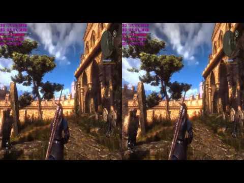 The Witcher 2 Nvidia 3D Vision 2 GTX970 SLI Test
