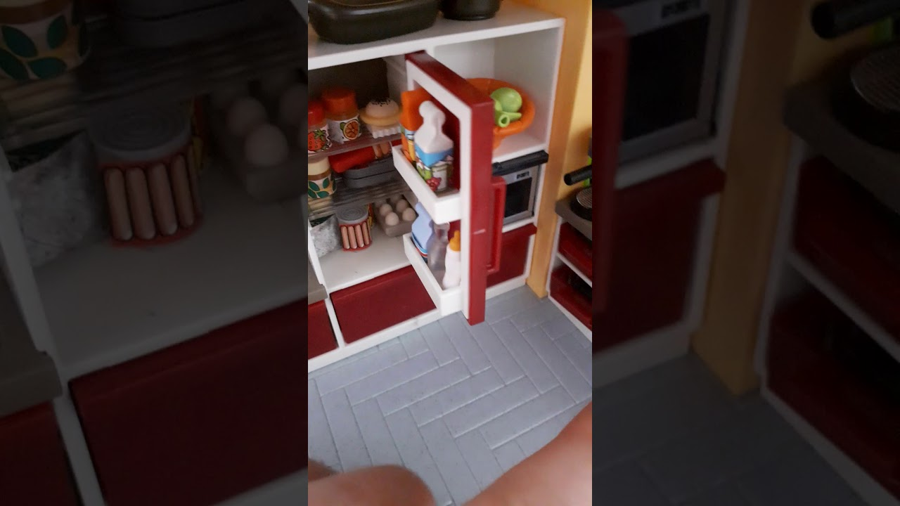 Amenagement De Cuisine Playmobil Youtube