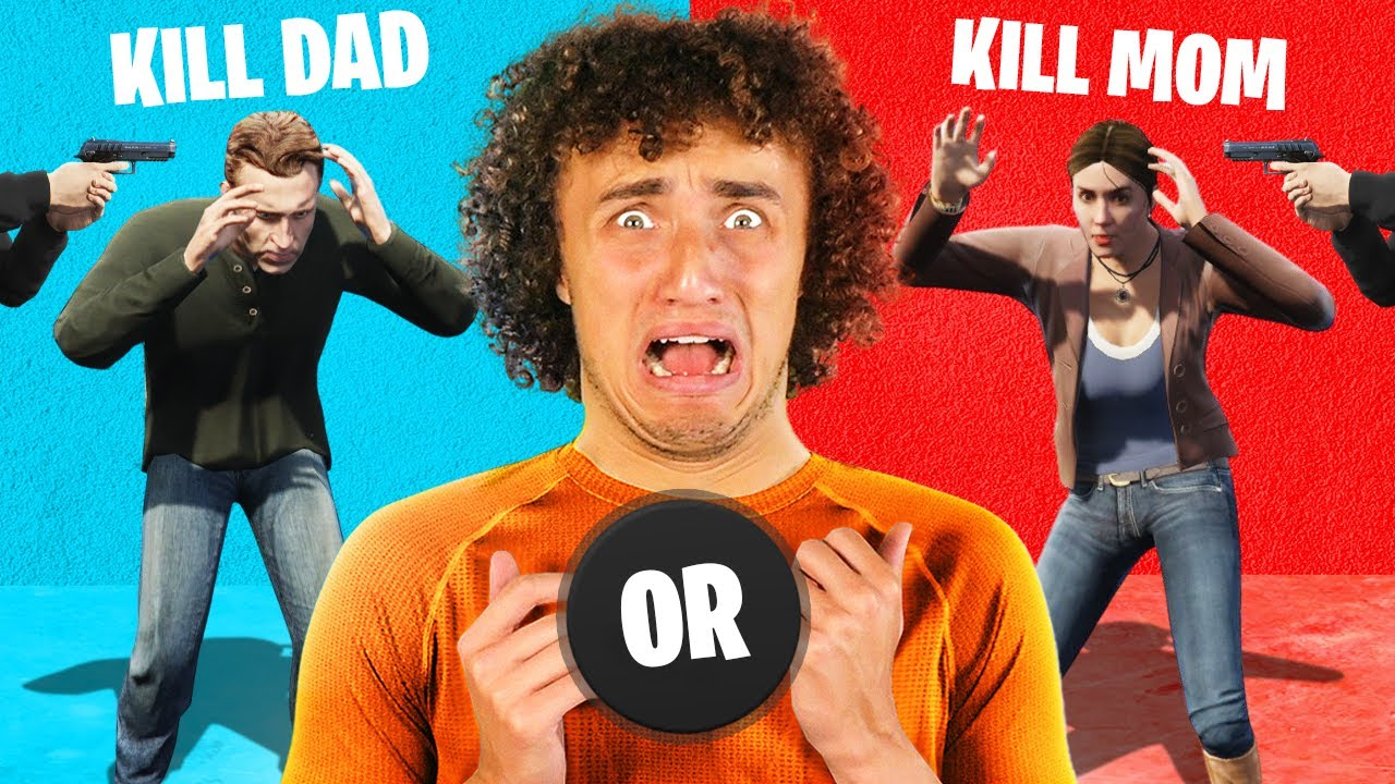 EXTREME Would YOU Rather Challenge in GTA 5