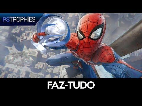 Spider-Man PS4 - Faz-Tudo - Guia de Troféu 🏆 (Todos os cf3ca8a9bd666