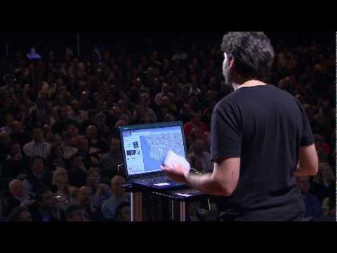 Blaise Agüera y Arcas Demos Augmented Reality Maps (2010 February 11)