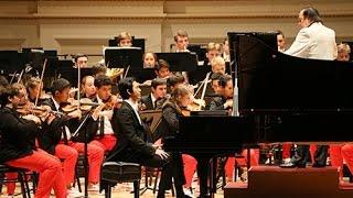 美国国家青年交响乐团举行卡内基启程音乐会