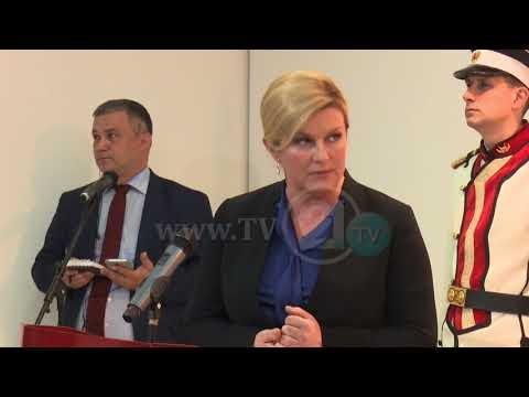 Претседателката на Хрватска: Посакувам поскоро Македонија да чекори по патот кон Европа