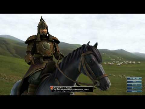 Civilization V OST | Genghis Khan Peace Theme | Traditional Mongolian Long Song (Urtiin Duu)