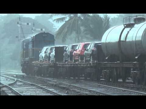 Sri Lanka Railways Motor Car Transporter