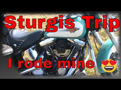 Sturgis 2015 I Rode Mine. Preparation, First Leg