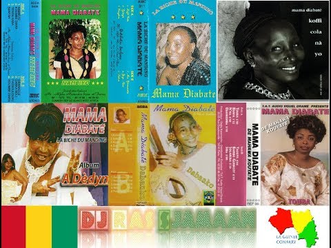 The Best Of Mama Diabaté (Guinée) By DJ Ras Sjamaan