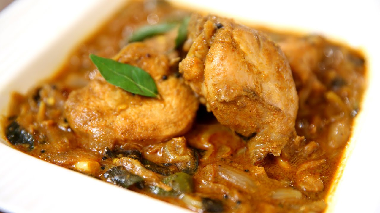 Chicken Curry - South Indian Style Recipe | Quick And Easy ...