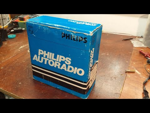 Philips AN381 Car Radio. Unboxing Video.