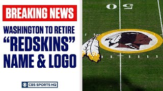 "Washington officially moving on from ""Redskins"" name and logo 