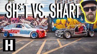 Best Cars at SEMA?? Sh*tcar and Shartkart Party Time at Endless Summer of Shred