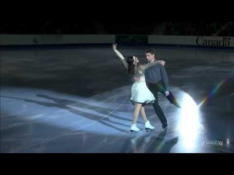 Tessa Virtue & Scott Moir I wanna hold your hand