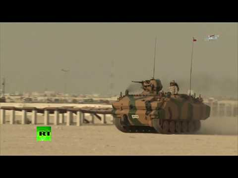 RAW: First batch of Turkish troops arrives in Qatar