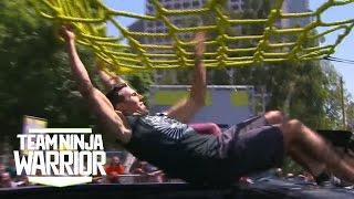 Season 2, Episode 7: Hotshot Thomas Stillings vs Veteran Travis Rosen | Team Ninja Warrior