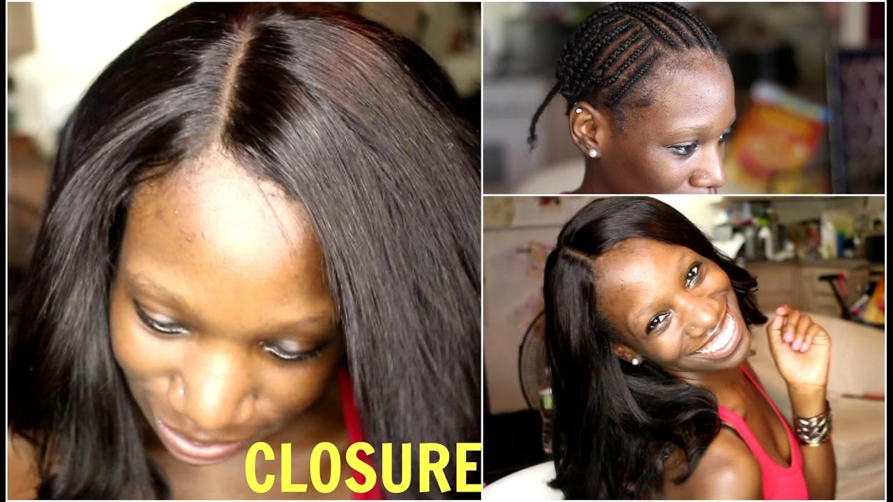 Sew In With Lace Closure Long Bob Haircut Kimmy Boutiki