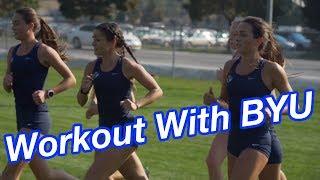 Workout Wednesday: BYU Women Fartlek