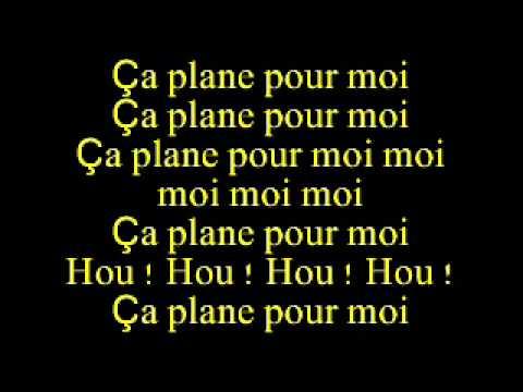 Ca plane pour moi - Plastic Bertrand lyrics