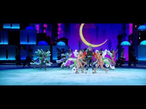 Видео: Ледовое арена-шоу Аладдин и повелитель огня