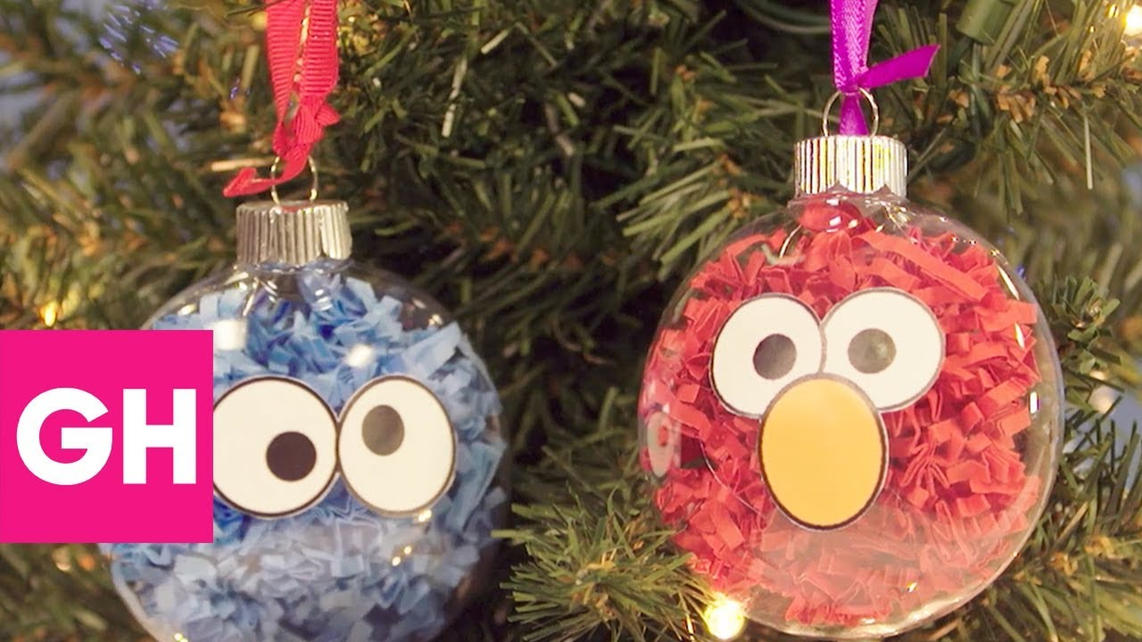 Easy DIY Christmas Ornaments to Make With the Kids