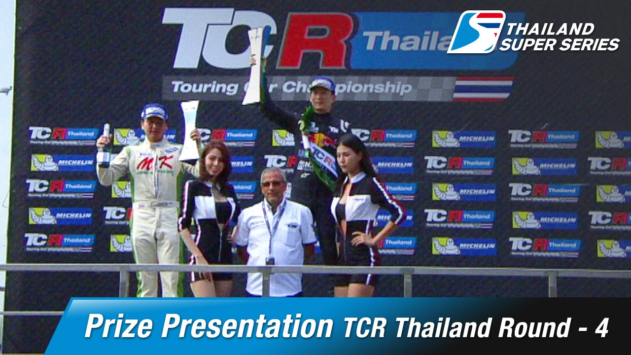 Prize Presentation TCR Thailand Round 4 | Chang International Circuit
