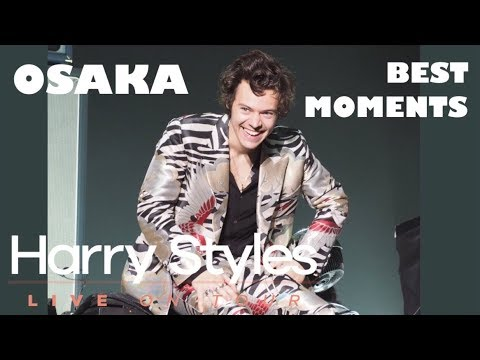 HARRY STYLES HIGHLIGHTS FROM THE OSAKA SHOW 2018