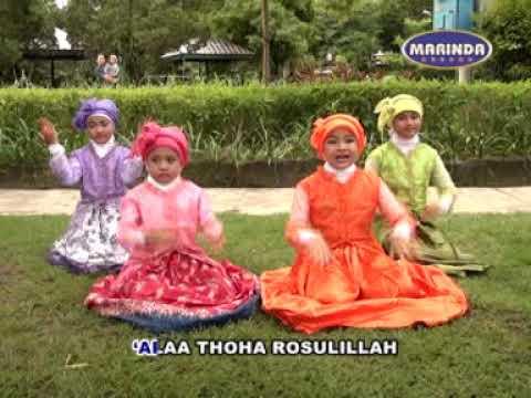 lagu sholawat anak-anak- TURI PUTIH - MARINDA RECORD - YouTube