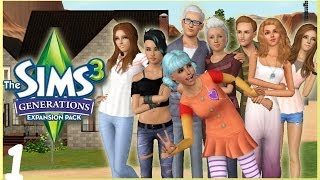 Let's Play: The Sims 3 Generations - (Part 1) - Create A Sim