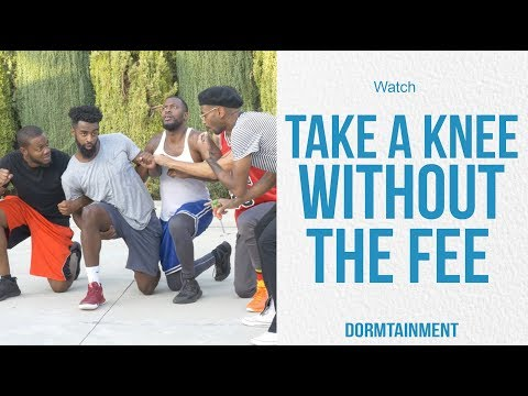 Take a Knee Without The Fee | DT SKIT
