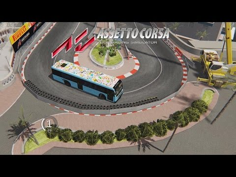 Assetto corsa lap - bus & monaco mod (download links) - 2600 HP - G29