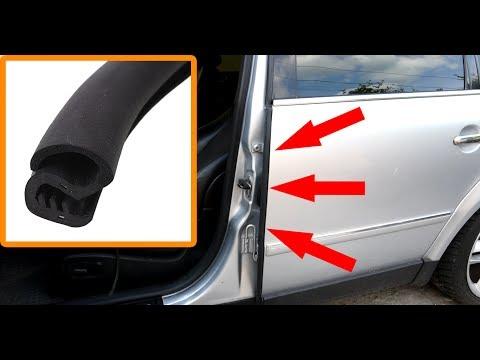 Как установить резиновый уплотнитель на VW Passat B5