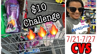 CVS $10 Challenge | Couponing With Toni | WE STOCKED UP TODAY! 7/22/19
