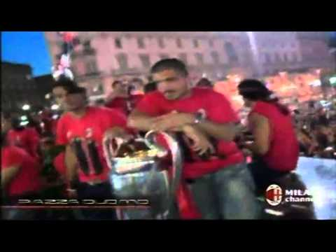 Milan Tour Bus After Win Champions League 2007 Part 5