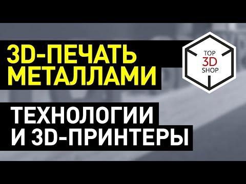 3D-принтер по металлу: технологии и устройства для печати металлами  —принтеры SLM и DMLS