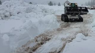 Video still for Bobcat T300 snow removal
