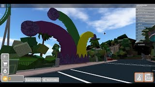 A Whole Day On Universal Studios Roblox!