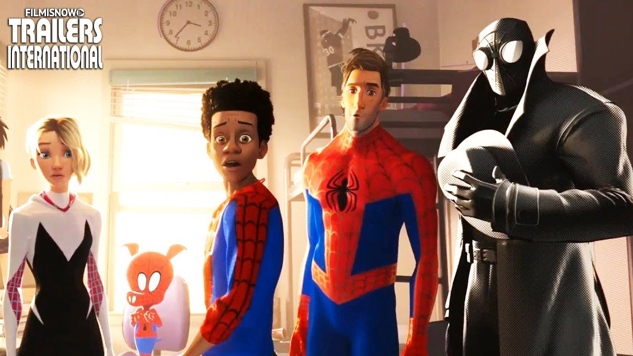 Animated Spider Wallpaper Homem Aranha No Aranhaverso 2019 Trailer 2 Dublado Da