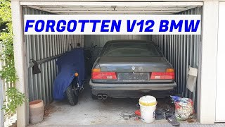 Garage Find V12 BMW E32 750iL & Projects Update
